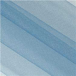 108'' Wide Nylon Tulle Antique Blue Fabric