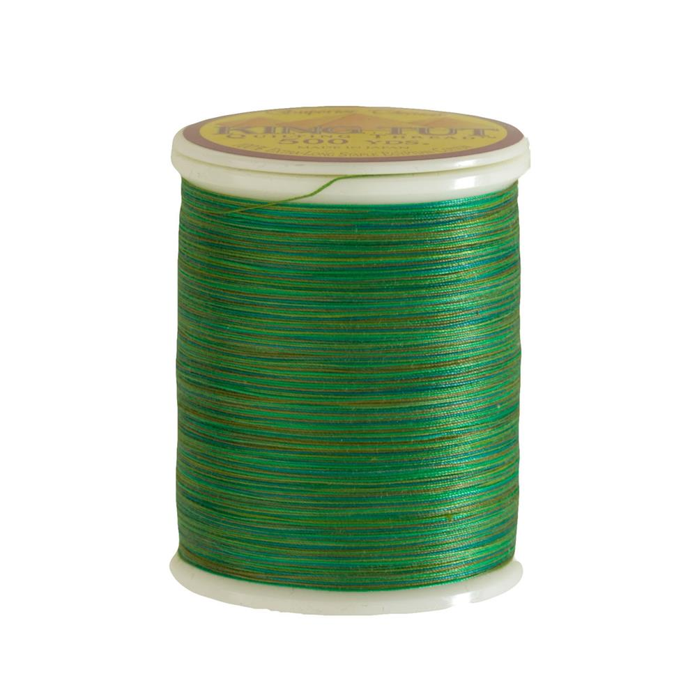 Superior King Tut Cotton Quilting Thread 3-ply 40wt 500yds Fahl Green