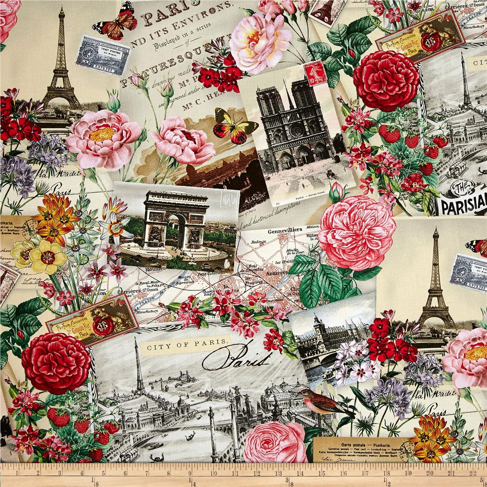 Spring In Paris Discount Designer Fabric Fabric Com