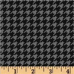 Kimberbell's Merry & Bright Houndstooth Grey/Black