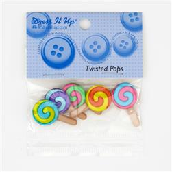 Dress It Up Embellishment Buttons  Twisted Pops