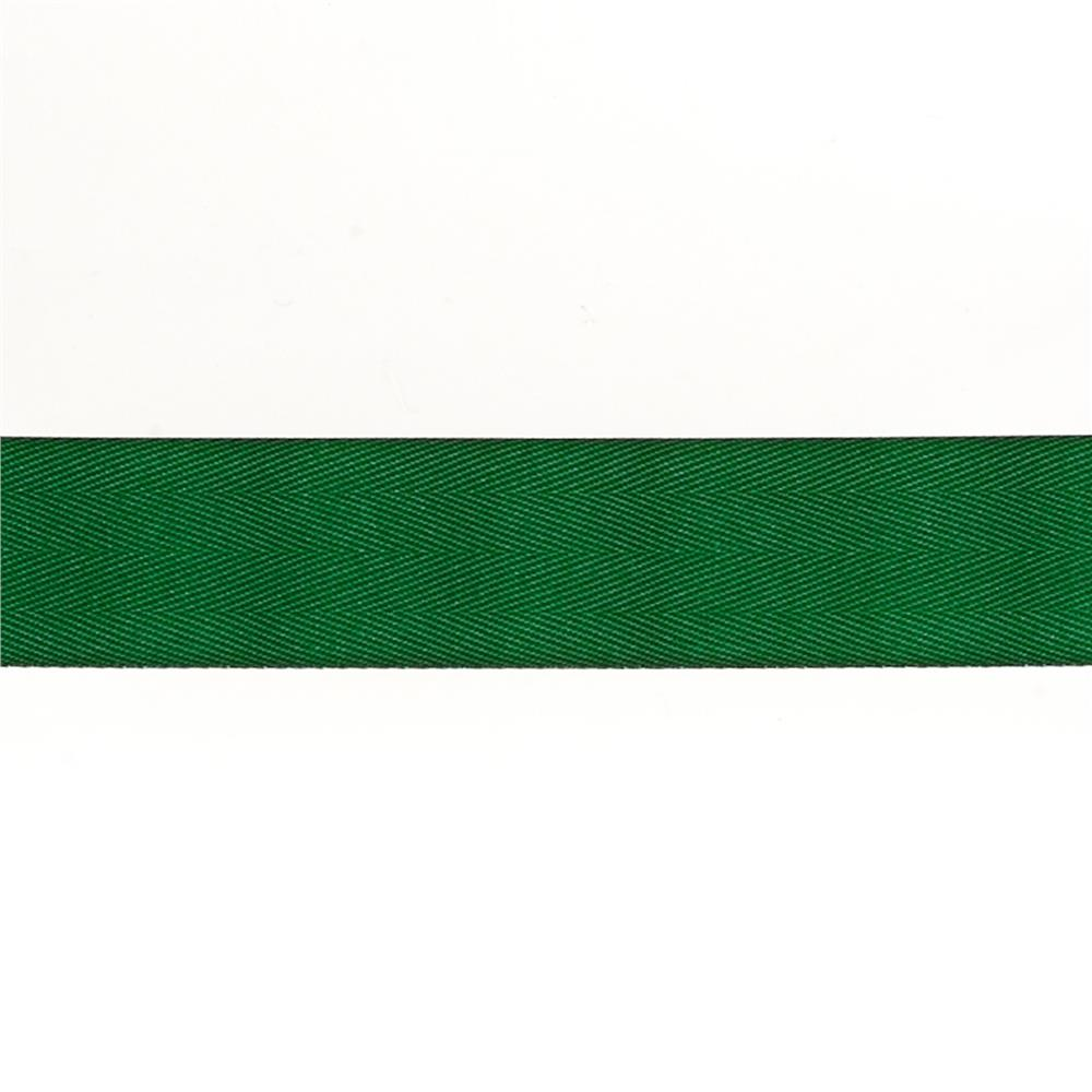 "May Arts 1 1/2"" Twill Ribbon Spool Green"