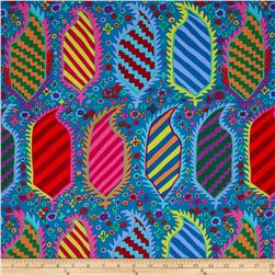 Kaffe Fassett Collective Striped Herald Turquoise