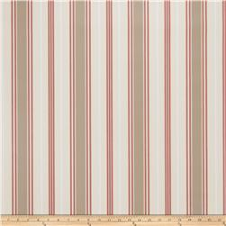 Fabricut Remi Stripe Wallpaper Rose (Double Roll)