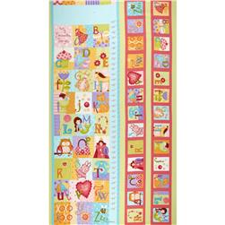 Curiosities Flannel Panel Lollipop Multi