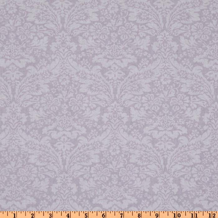 Treasures by Shabby Chic Wildflowers Tonal Damask Lilac