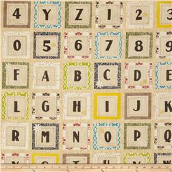 Tilly Alphabet Ivory