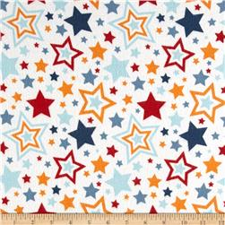 Riley Blake Lucky Star Flannel Main Cream