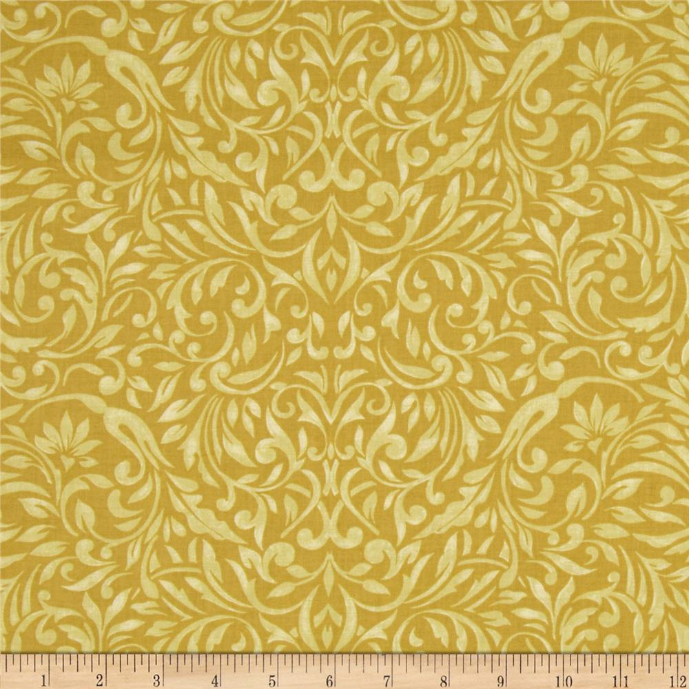 My True Love Gave to Me Damask Gold