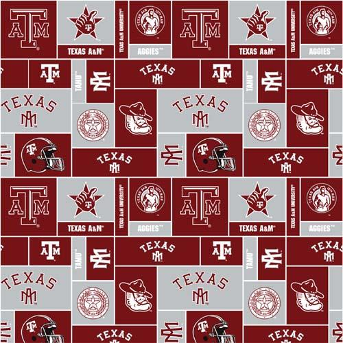 Collegiate Fleece Texas A&M Blocks