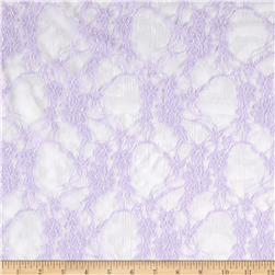 Giselle Stretch Floral Lace Light Lavender