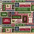 Christmas Elegance Christmas Words Cream