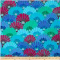 Kaffe Fassett Collective Thousand Flowers Blue