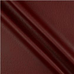 Faux Leather Ostrich Burgundy