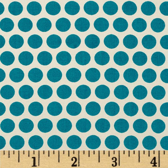 Birch Organic Mod Basics Dottie Two Teal