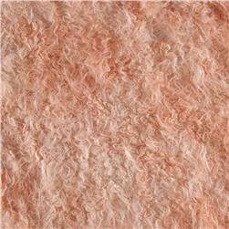 Faux Fur Frizzy Mongolian Fur Rose