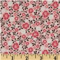 Riley Blake Round Up Floral Pink