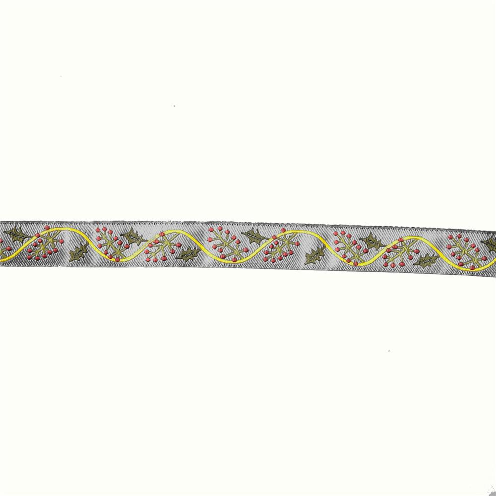 5/8'' Sue Spargo Holly Ribbon Red