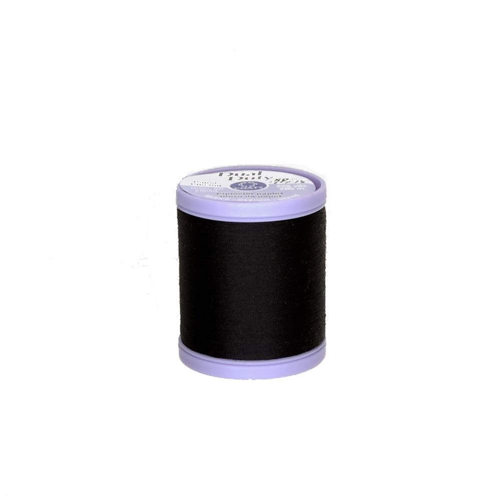 Coats & Clark Dual Duty XP Paper Piecing Thread Black
