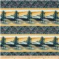 Native Pine Native Pine Decorative Stripe Gold/Blue