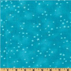 Laurel Burch Basics Star Blue Fabric