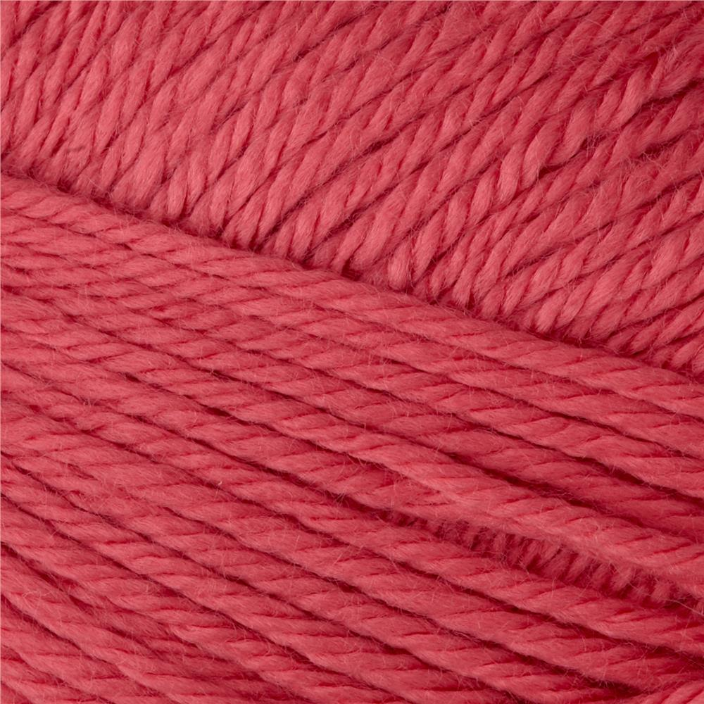 Bernat Satin Yarn Soft Red