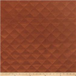 Fabricut Quilted Velvet Copper