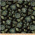 Palm Court Small Jacobean Floral Brown