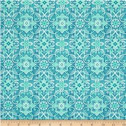 Berry Cobbler Medallion Teal