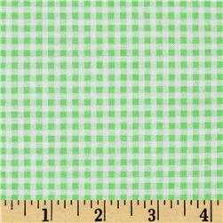 Brights & Pastels Basics Small Gingham Light Green