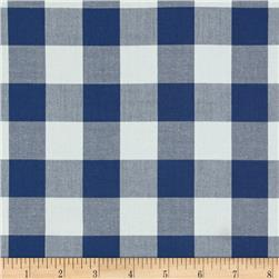 "Kaufman 1"" Carolina Gingham Denim"