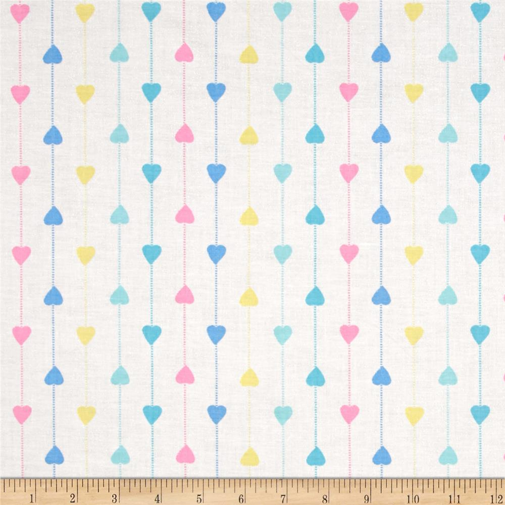 Tiny Toys Strong Hearts White/Multi