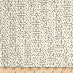 Market Road Abstract Clover Light Grey