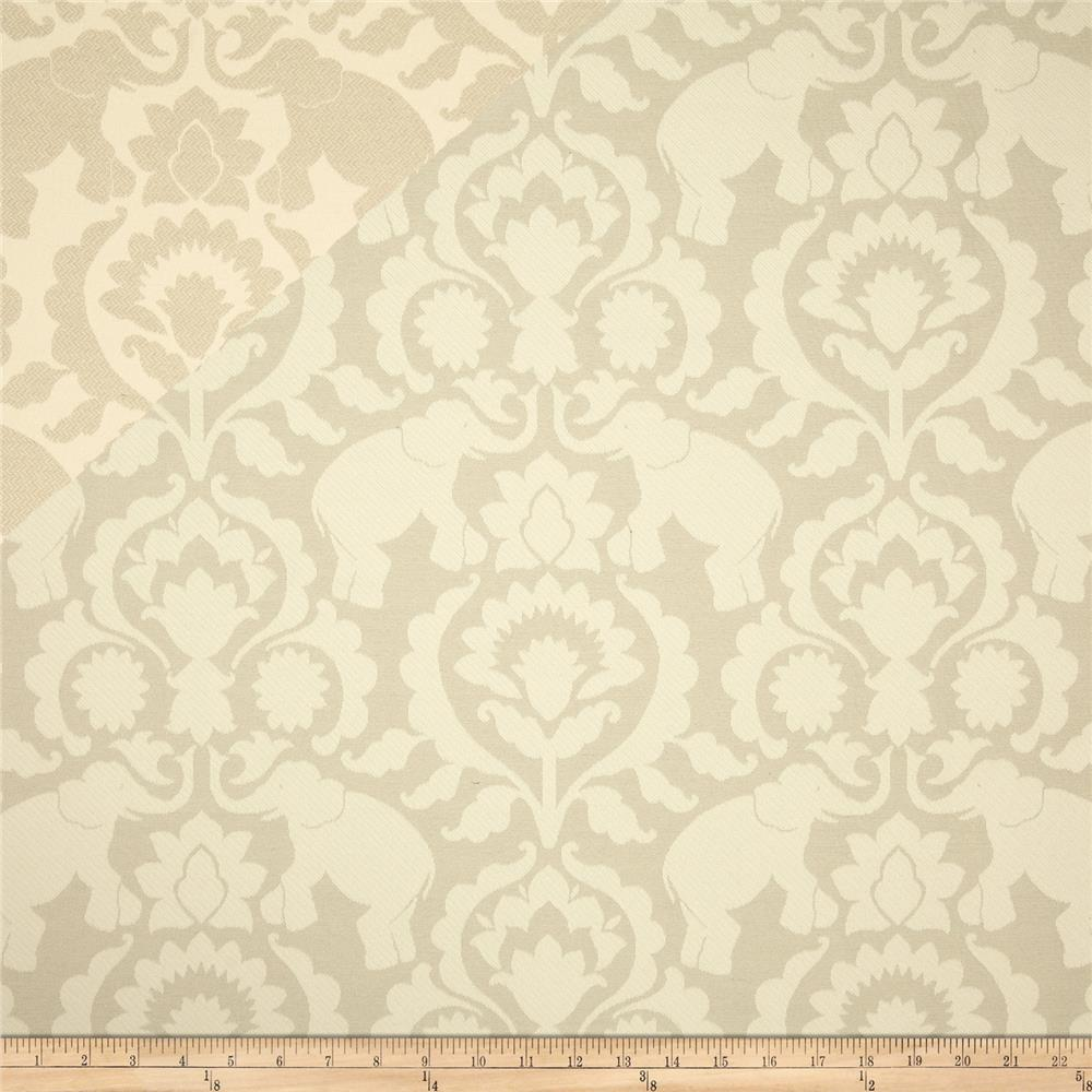 Covington Babar Elephants Jacquard Dove