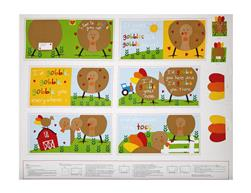 "Sandra Magsamen Huggable & Loveable Holiday 36"" Thanksgiving Book 36"" Panel Multi"