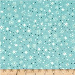 Moda The Cookie Exchange Snowflakes Splash