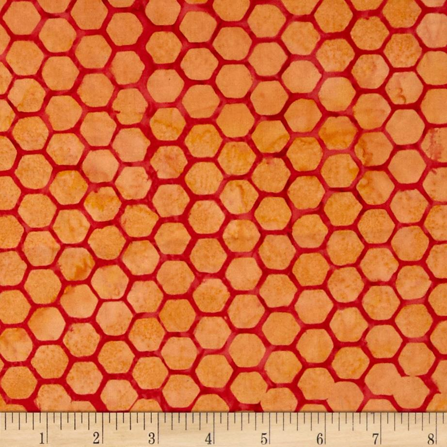 Bali Batiks Handpaint Honeycombs July