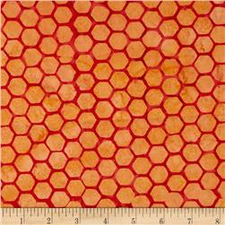 Bali Batiks Handpaint Honeycombs July Fabric