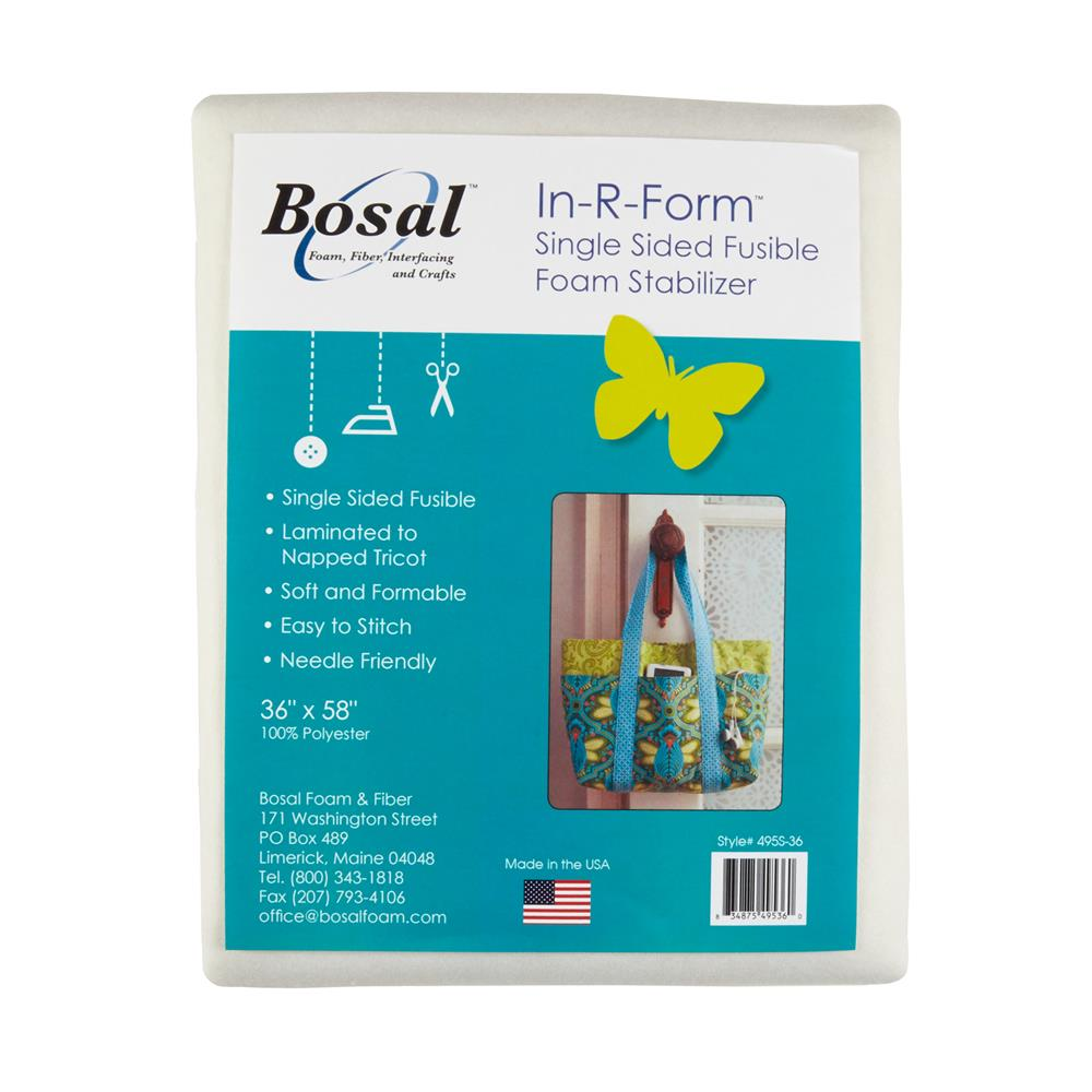 Bosal In-R-Form Single Sided Fusible 1 yard Foam
