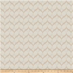 Fabricut Yufka Lattice Satin Jacqaurd Beige
