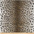 Cotton Rib Knit Cheetah Brown