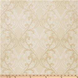 Fabricut Gwyneth Wallpaper Shell Gold (Double Roll)
