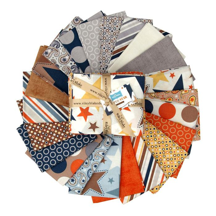 Riley Blake Super Star Fat Quarter Assortment