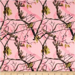 Realtree Flannel Allover Pink Fabric