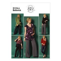 Butterick Misses' Maternity Pants Pattern B5964 Size A50
