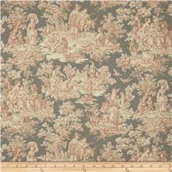 Waverly Rustic Life Toile Terracotta