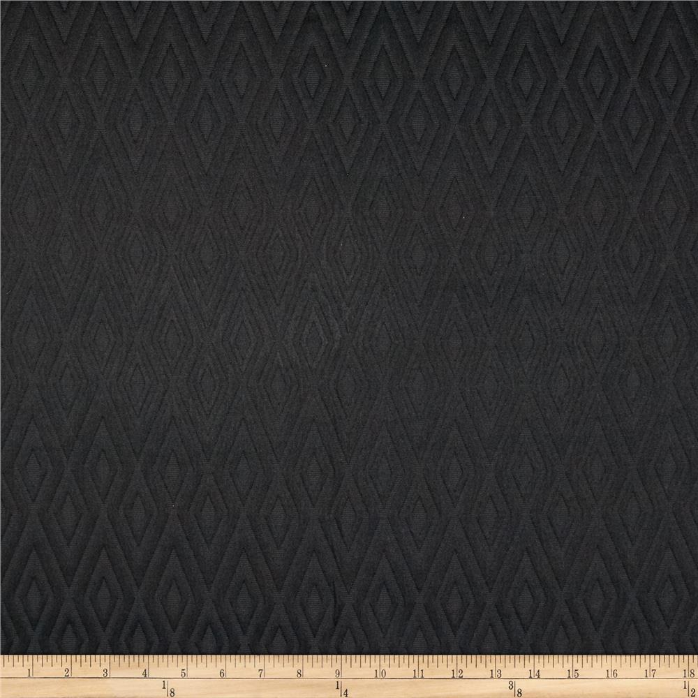 Waverly Fantastical Matelasse Ebony
