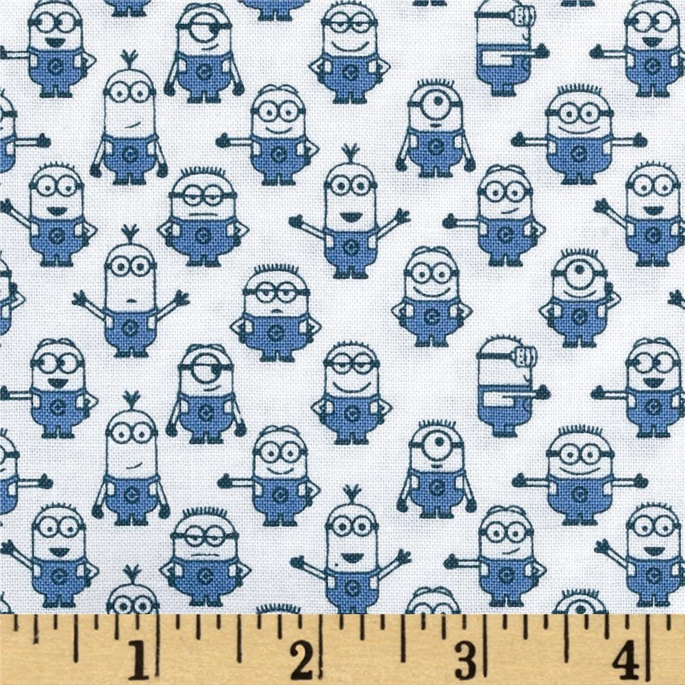 Universal Despicable Me 1 in A Minion Graphic Set Minions White