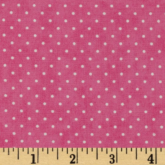 Moda Essential Dots (# 8654-36) Bubble Gum
