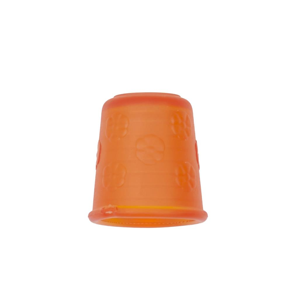 "Dill Rubberized Thimble 7/8"" Orange"